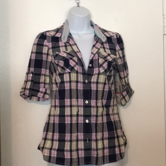 Tommy Hilfiger Tops - Button Front Shirt